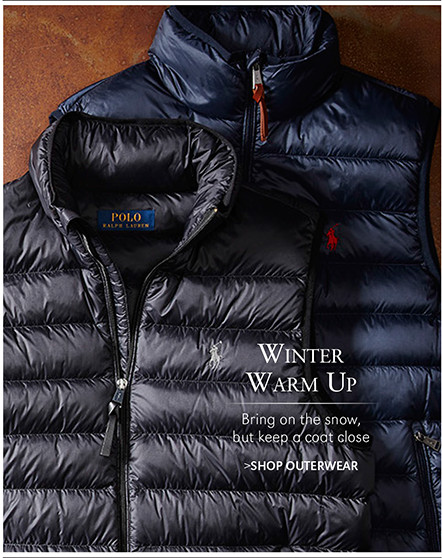 Winter Warm Up | Bring on the snow, but keep a coat close | SHOP OUTERWEAR