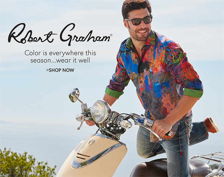 Robert Graham | Color is everywhere this season...wear it well | SHOP NOW