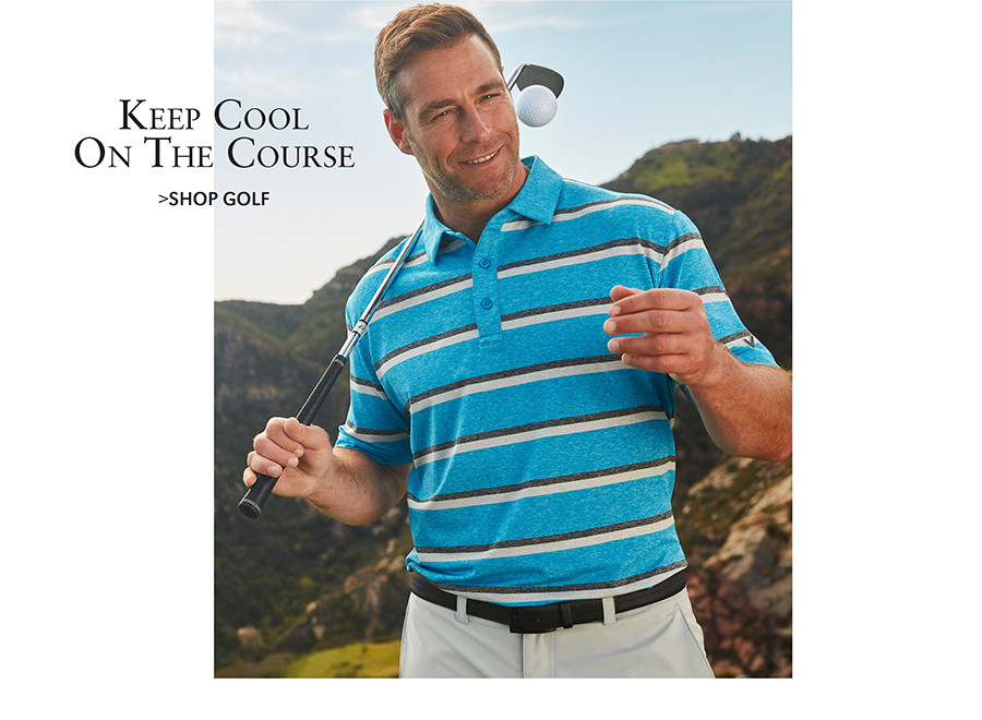 Keep Cool On The Course | SHOP GOLF