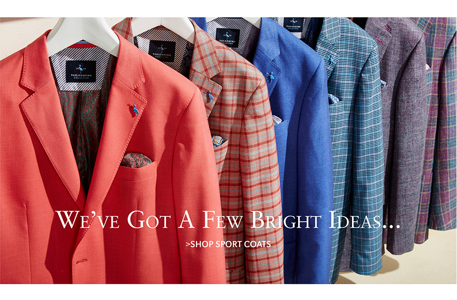 We've Got A Few Bright Ideas... | SHOP SPORT COATS