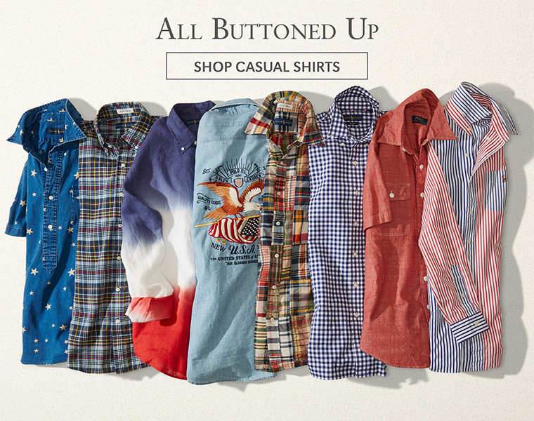 All Buttoned Up | SHOP CASUAL SHIRTS