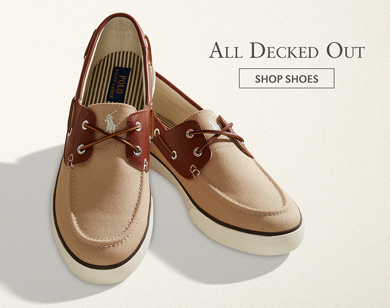 All Decked Out | SHOP SHOES