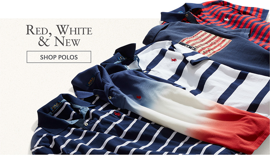 Red, White & New | SHOP POLOS