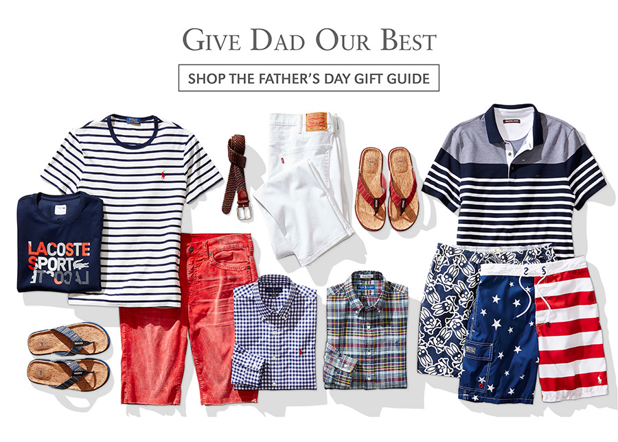 Give Dad Our Best | SHOP THE FATHER'S DAY GIFT GUIDE