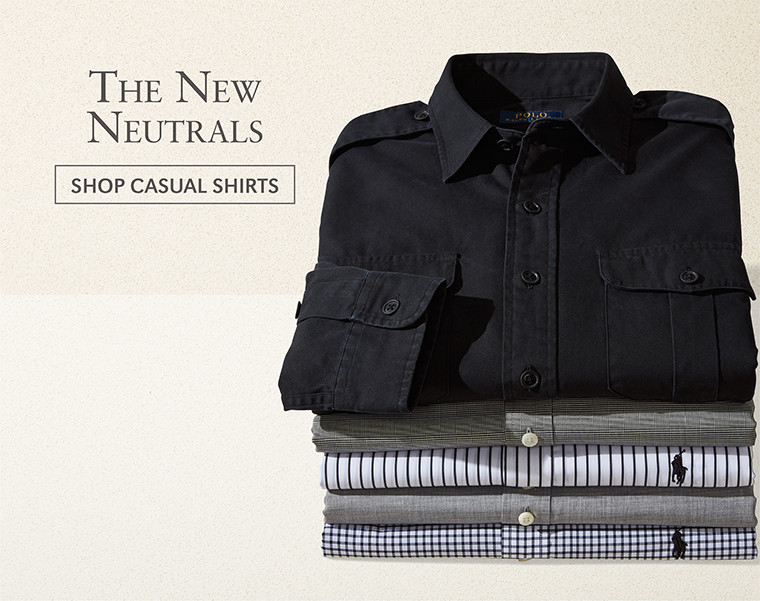 The New Neutrals | SHOP CASUAL SHIRTS