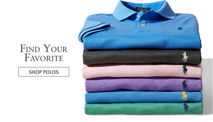 Find Your Favorite | SHOP POLOS