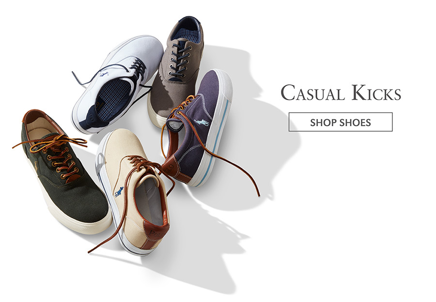 Casual Kicks   SHOP SHOES
