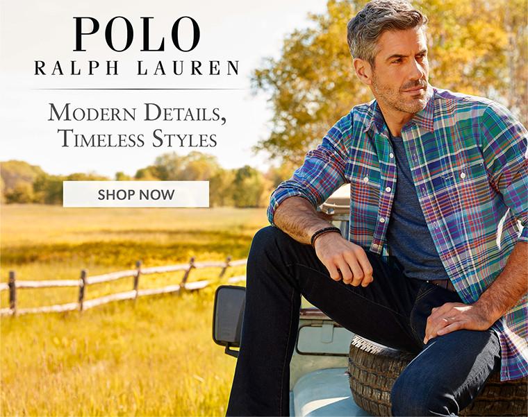 POLO RALPH LAUREN | Modern Details, Timeless Styles | SHOP NOW