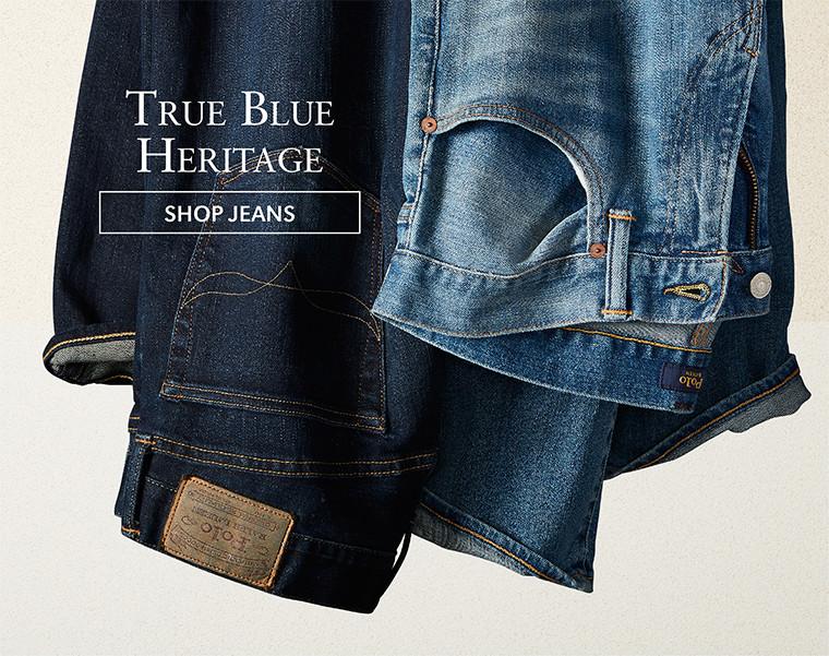 True Blue Heritage | SHOP JEANS