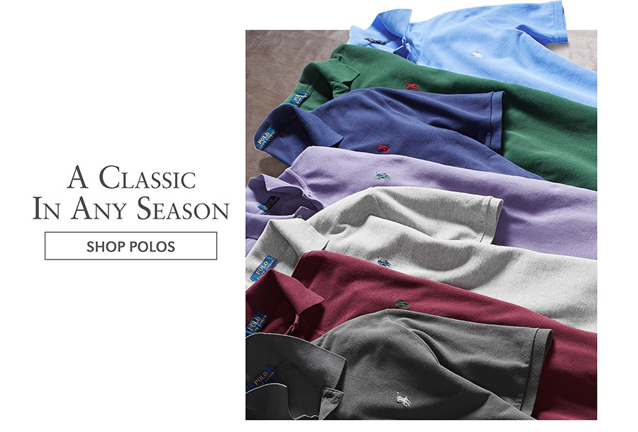 A Classic In Any Season | SHOP POLOS