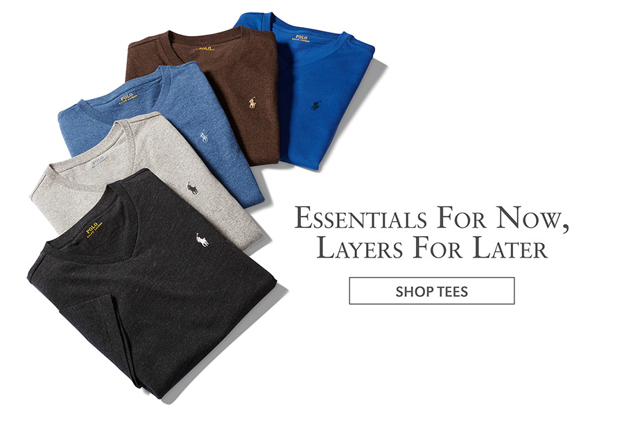 Essentials For Now, Layers For Later | SHOP TEES