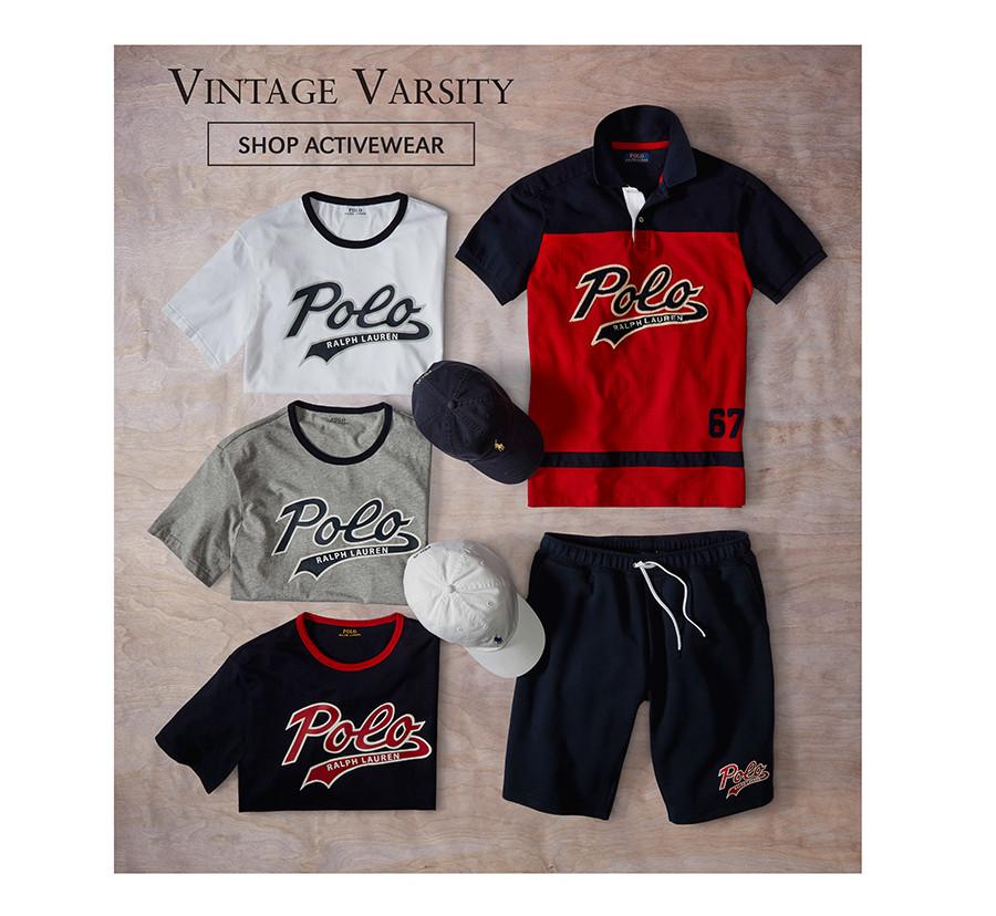 Vintage Varsity | SHOP ACTIVEWEAR