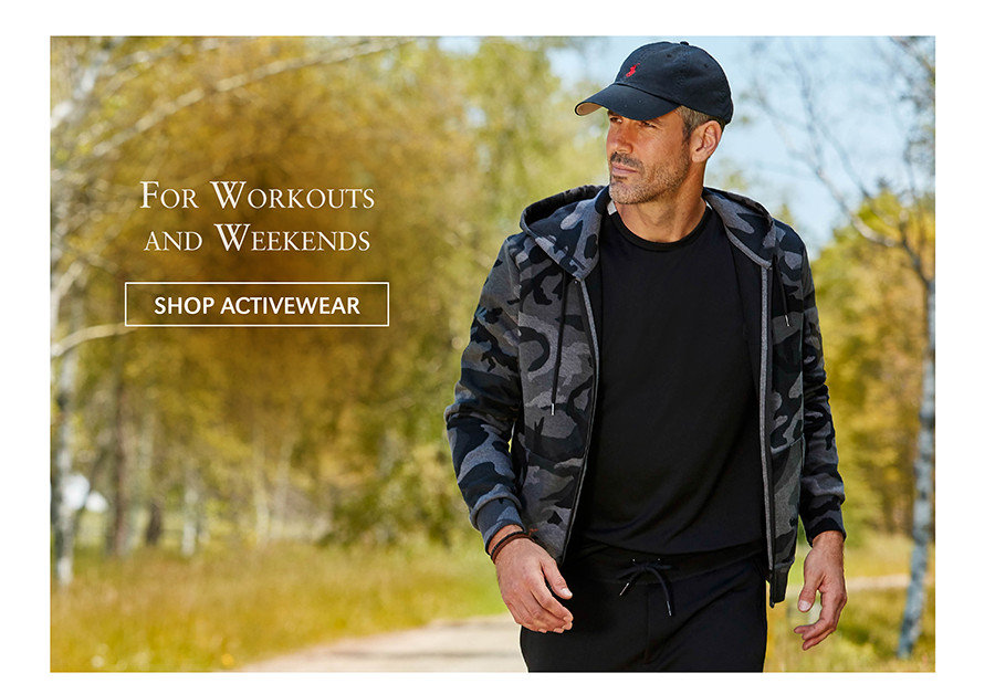 For Workouts and Weekends   SHOP ACTIVEWEAR