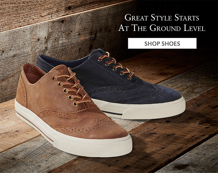 Great Style Starts At The Ground Level | SHOP SHOES
