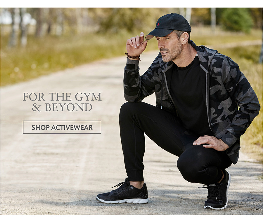 FOR THE GYM & BEYOND | SHOP ACTIVEWEAR