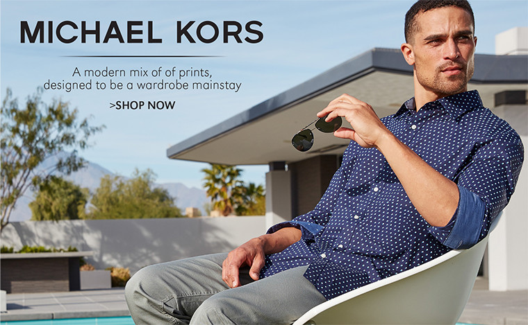 Michael Kors | A modern mix of of prints, designed to be a wardrobe mainstay | SHOP NOW