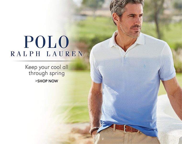 Polo Ralph Lauren | Keep your cool all through spring | SHOP NOW