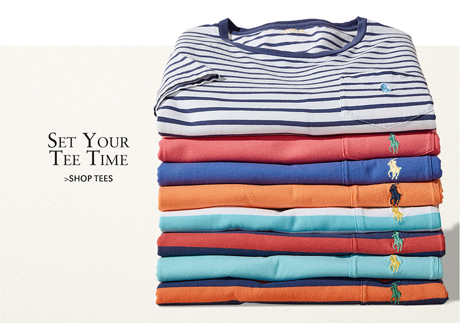 Set Your Tee Time | SHOP TEES