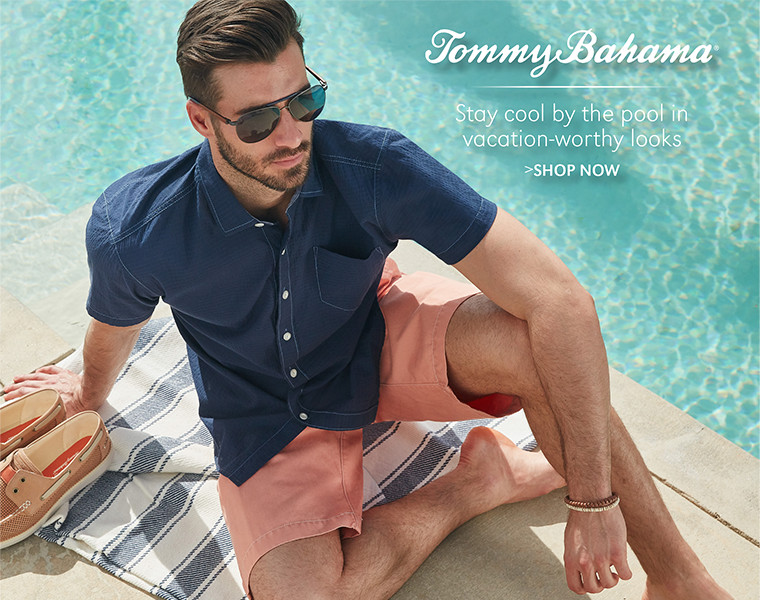 Tommy Bahama | Stay cool by the pool in vacation-worthy looks | SHOP NOW