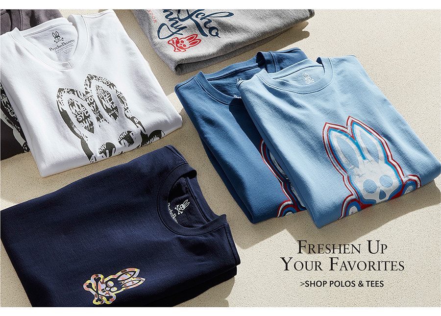 Freshen Up Your Favorites | SHOP POLOS & TEES
