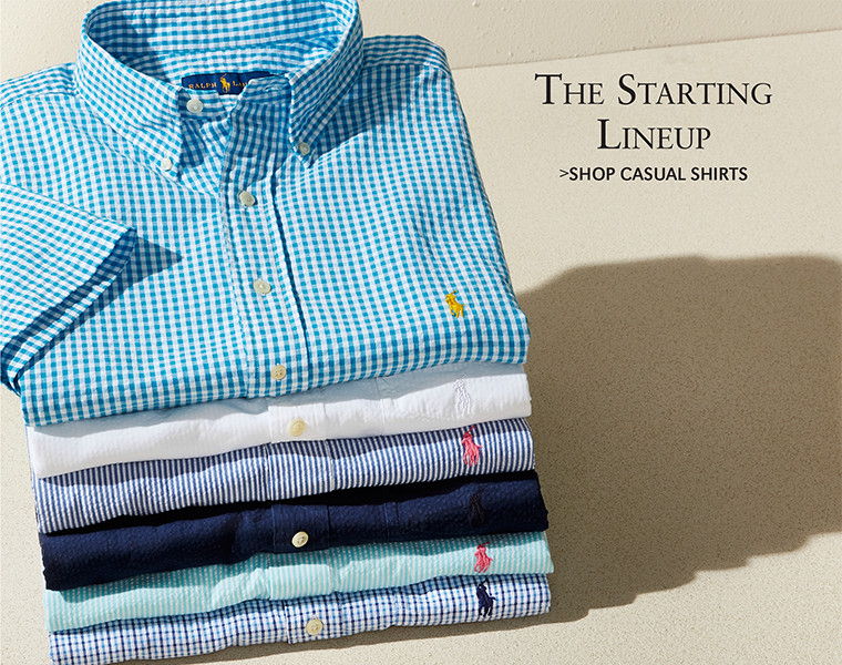 The Starting Lineup | SHOP CASUAL SHIRTS