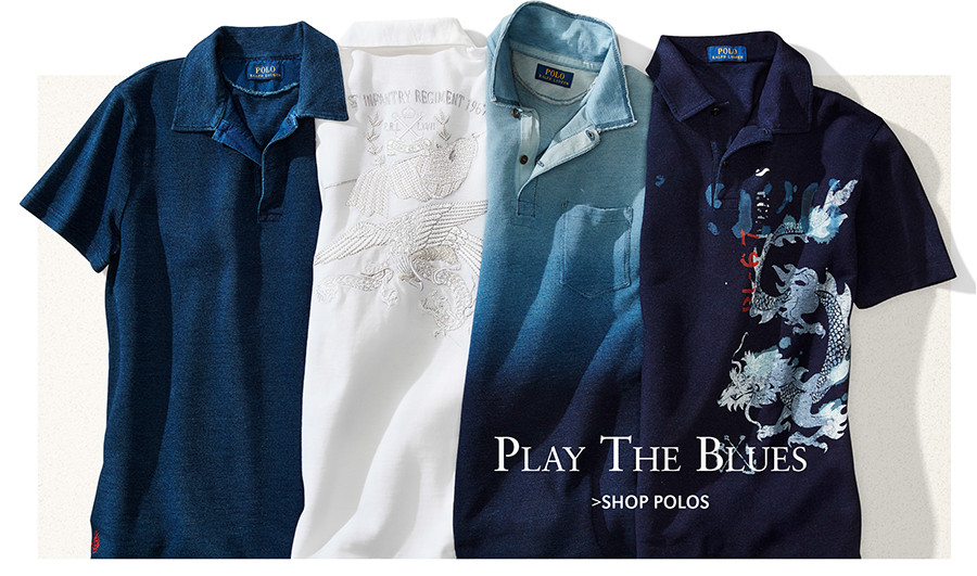 Play The Blues | SHOP POLOS