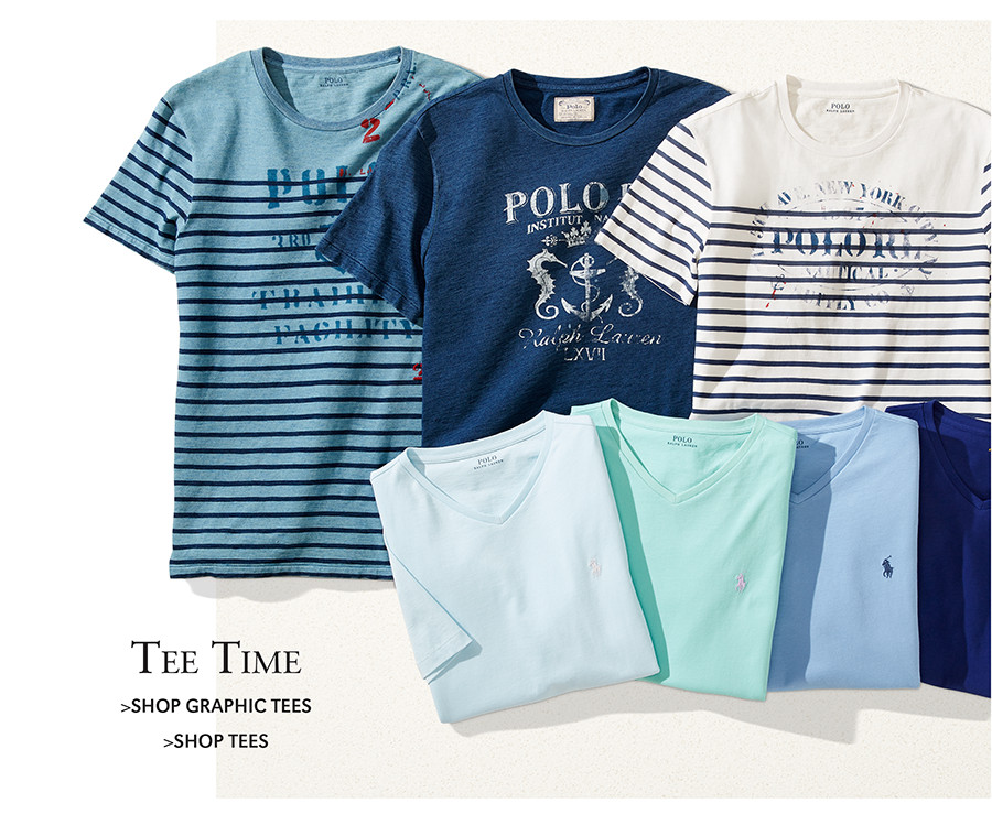 Tee Time | SHOP GRAPHIC TEES | SHOP TEES