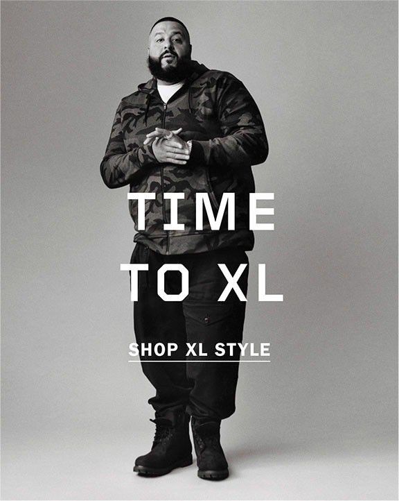 TIME TO XL   SHOP XL STYLE