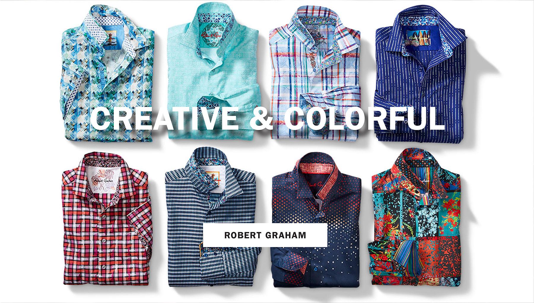 CREATIVE & COLORFUL   ROBERT GRAHAM