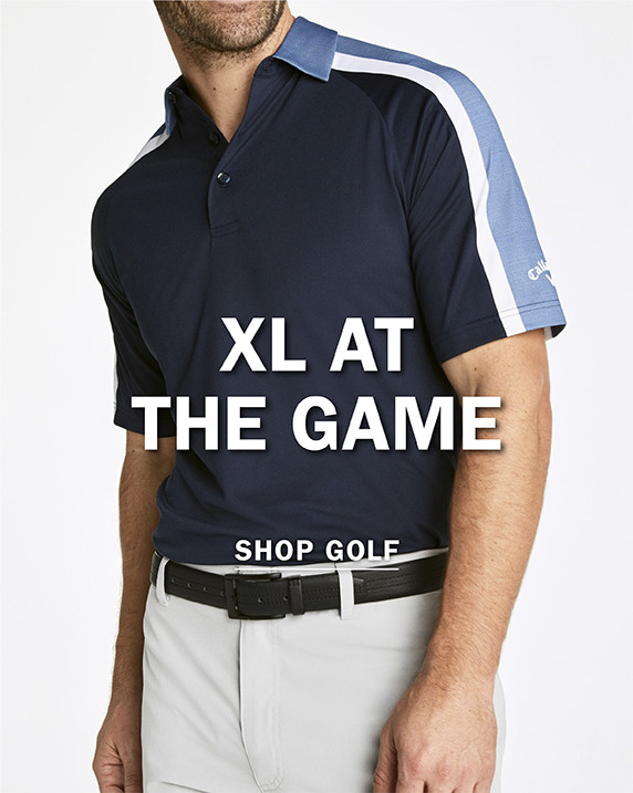 XL AT THE GAME | SHOP GOLF