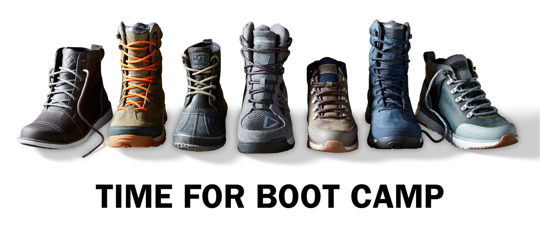 TIME FOR BOOTS CAMP | SHOP NOW