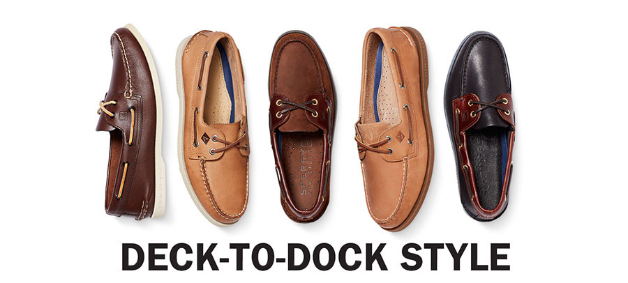 DECK TO DOCK STYLE | SHOP BOAT SHOES