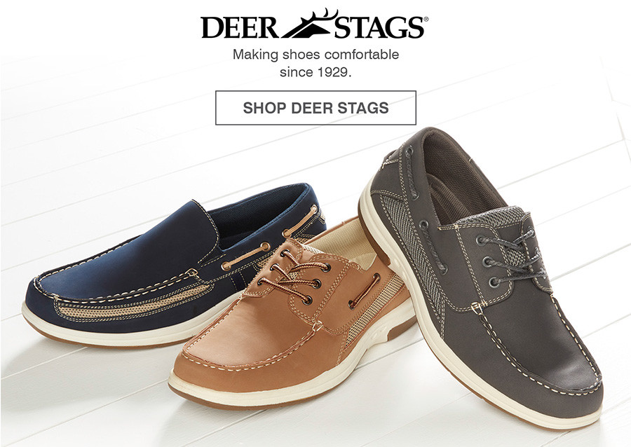MAKING SHOES COMFORTABLE SINCE 1929. SHOP DEER STAGS