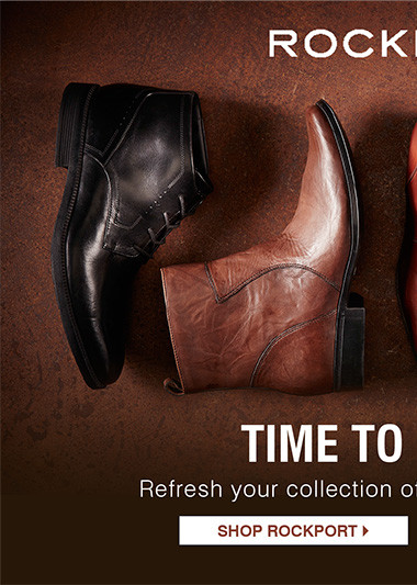 Time to re-boot. Refresh your collection of boots for a new season. Shop Rockport.