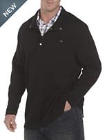Synrgy® Snap Mockneck Pullover