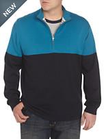 Nautica Jeans Co.® 1/4-Zip Colorblocked Sweater