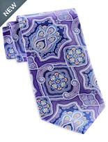 Geoffrey Beene Enchanted Medallion Tie