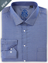 English Laundry Midnight Diamond Geo Dress Shirt