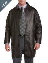 Rochester Indian Nappa Leather Trench Coat