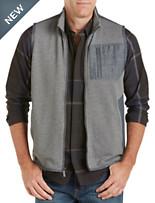 Calvin Klein Sport® Mixed-Media Quilted Piqué Vest