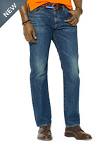 Polo Ralph Lauren® Hampton Straight-Fit Warwick Wash Denim Jeans