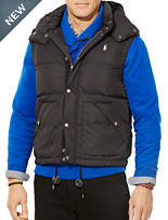 Polo Ralph Lauren® Elmwood Down Vest with Detachable Hood