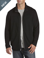 Twenty-Eight Degrees Nylon-Trim Piqué Jacket
