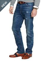Polo Ralph Lauren® Hampton Straight-Fit Reeve Wash Denim Jeans