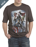 Marvel Comics Avengers Age of Ultron Screen Tee