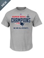 Super Bowl Champions Locker Room Tee