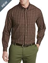 Harbor Bay® Easy-Care Multi Plaid Sport Shirt