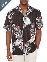 Cubavera® Floral-Print Sport Shirt