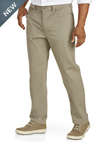 True Nation® 5-Pocket Athletic-Fit Twill Pants