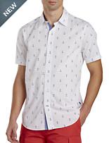 Nautica® Anchor-Print Sport Shirt